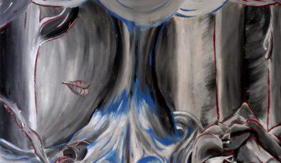 Colorado American Travel Artist Yona Brodeur - Surrealist Monochrome Art