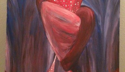 Spirit Science Travel Artist Yona Brodeur Surreal Anatomy Love Heart Flower of Life Art