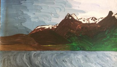 Alaska Landscape Art of Winter to Spring Change of Seasons - Yona Brodeur