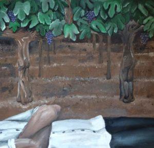 Travel Artist Yona Brodeur Romantic Winery Art in Napa Valley Wine Country