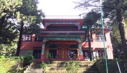 tushita meditation center in mcloed ganj, dharamsala, india_food, accomodation, gompa for intro to buddhism course