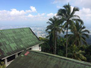 View from Monastery at Wat Doi Suthep Northern Thailand Vipassana Meditation Center