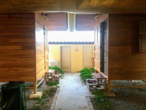 Accommodation (kuty) at Wat Chom Tong Vipassana Meditation Center Northern Thailand
